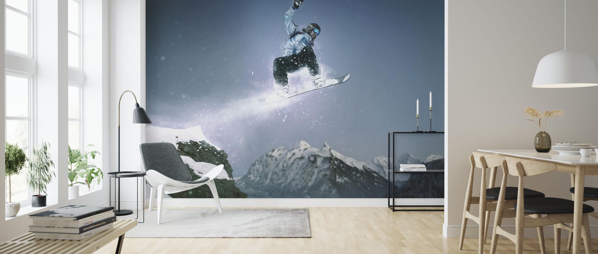 Snowboard Method Grab - Wallpaper - Living Room