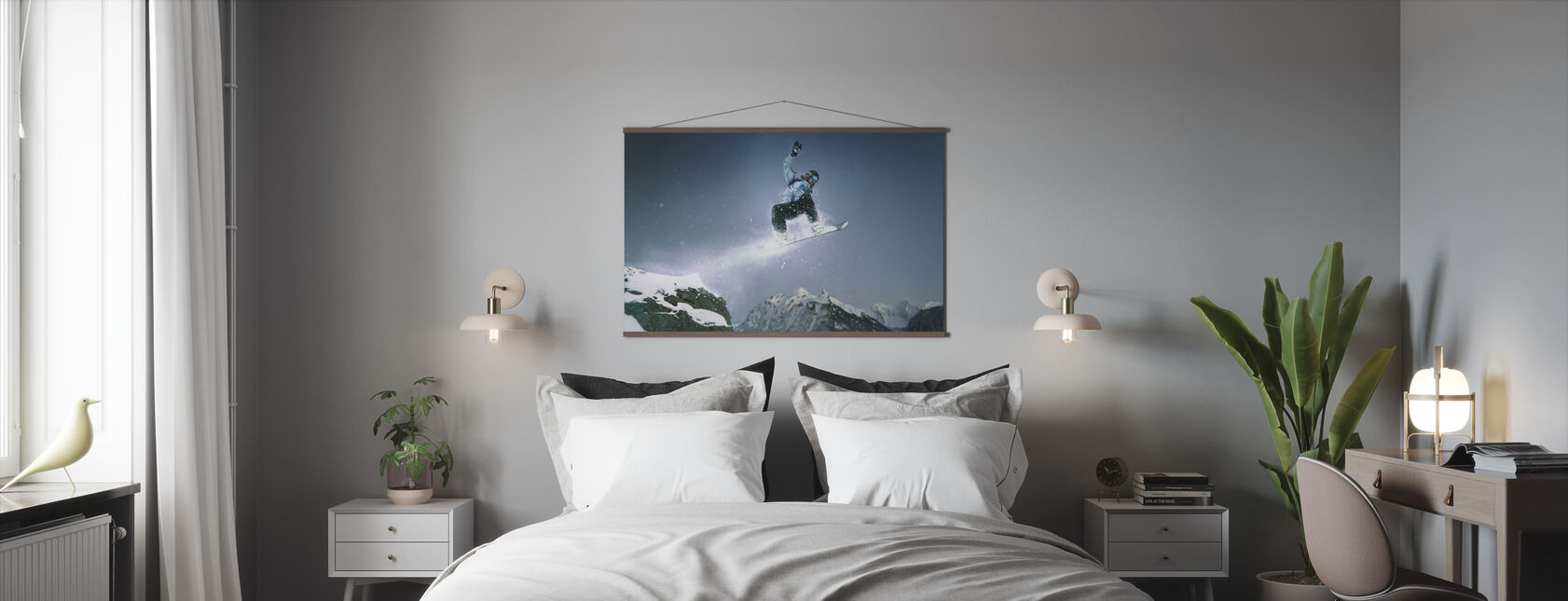 Snowboard Method Grab - Poster - Bedroom