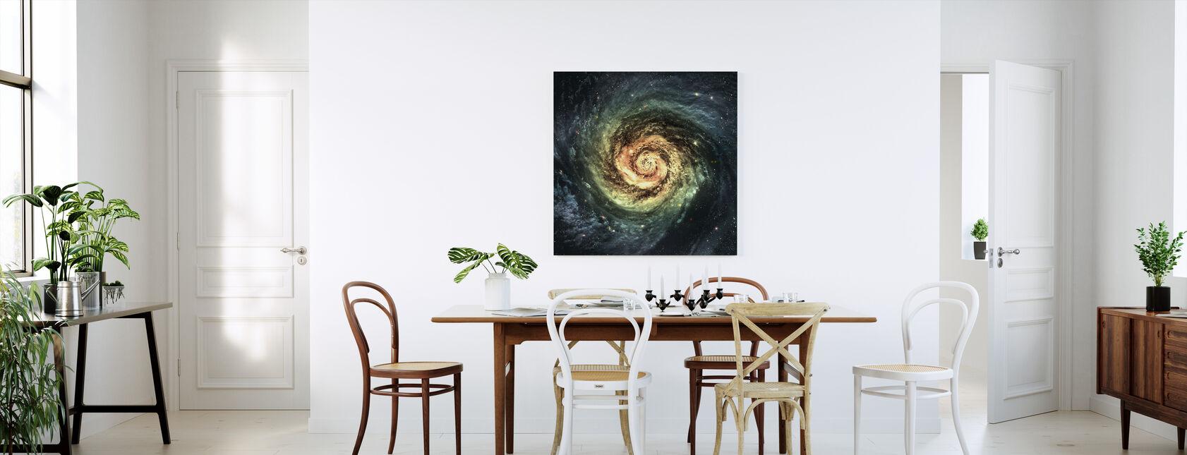 Spiraali Galaxy - Canvastaulu - Keittiö