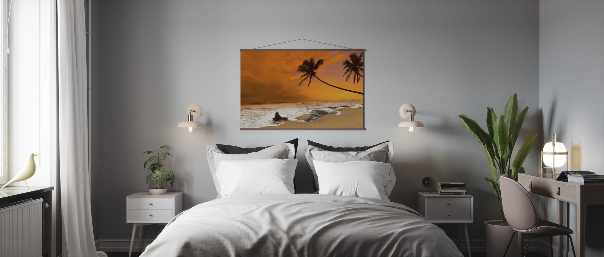 Sunset over the Sea - Poster - Bedroom