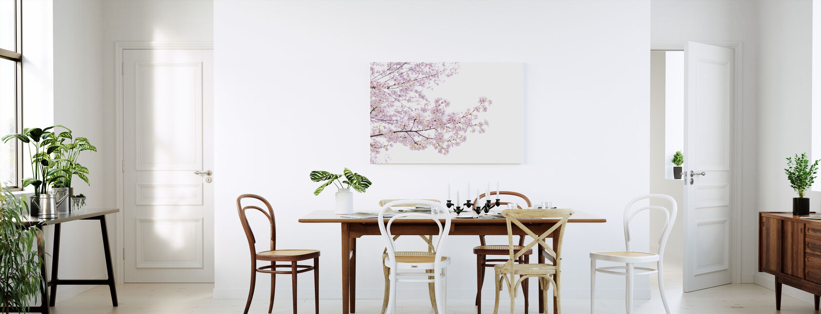 Divine Cherry Blossoms - Canvas print - Kitchen
