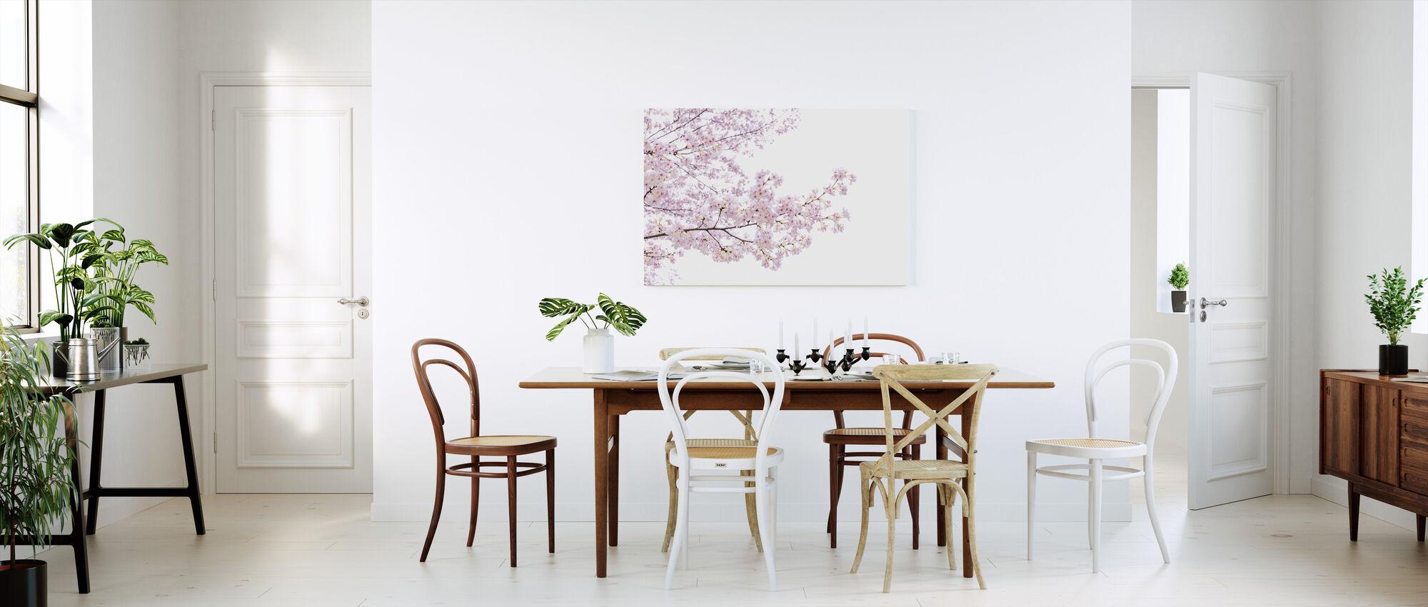 Divine Cherry Blossoms - Canvas print - Kitchen