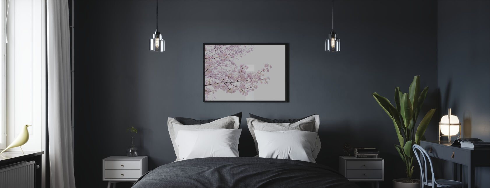 Divine Cherry Blossoms - Framed print - Bedroom