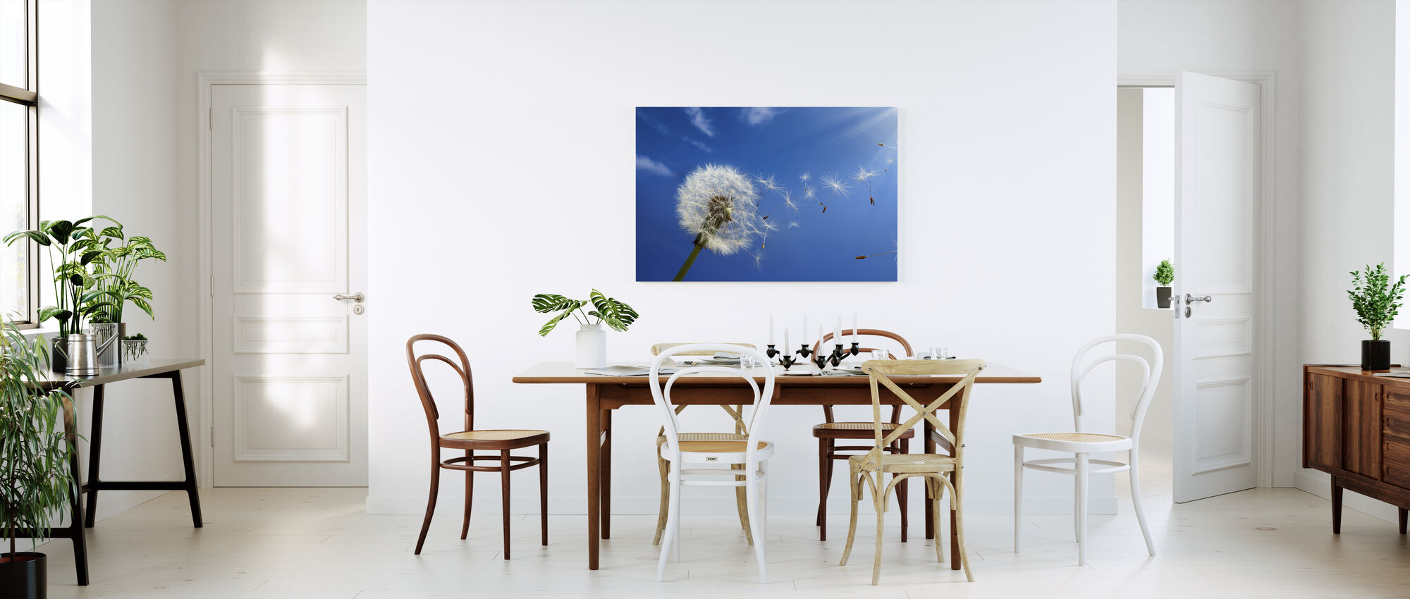 Dreams of Dandelion - Canvas print - Kitchen