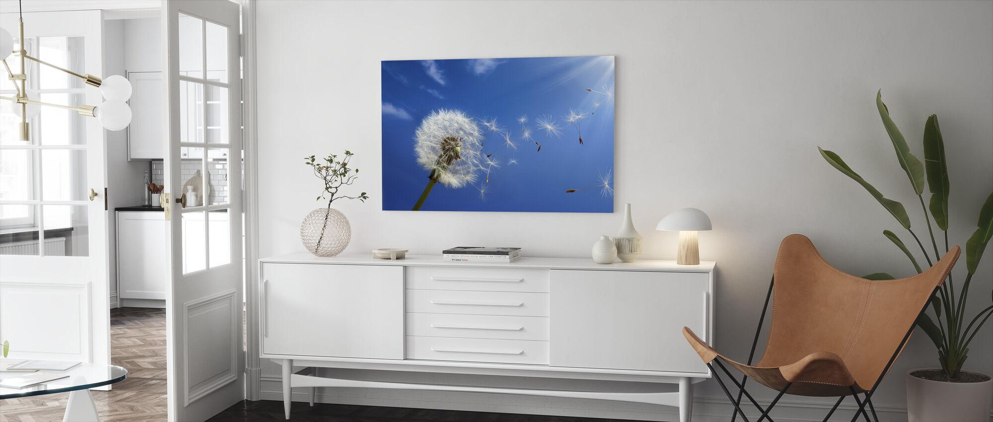 Dreams of Dandelion - Canvas print - Living Room