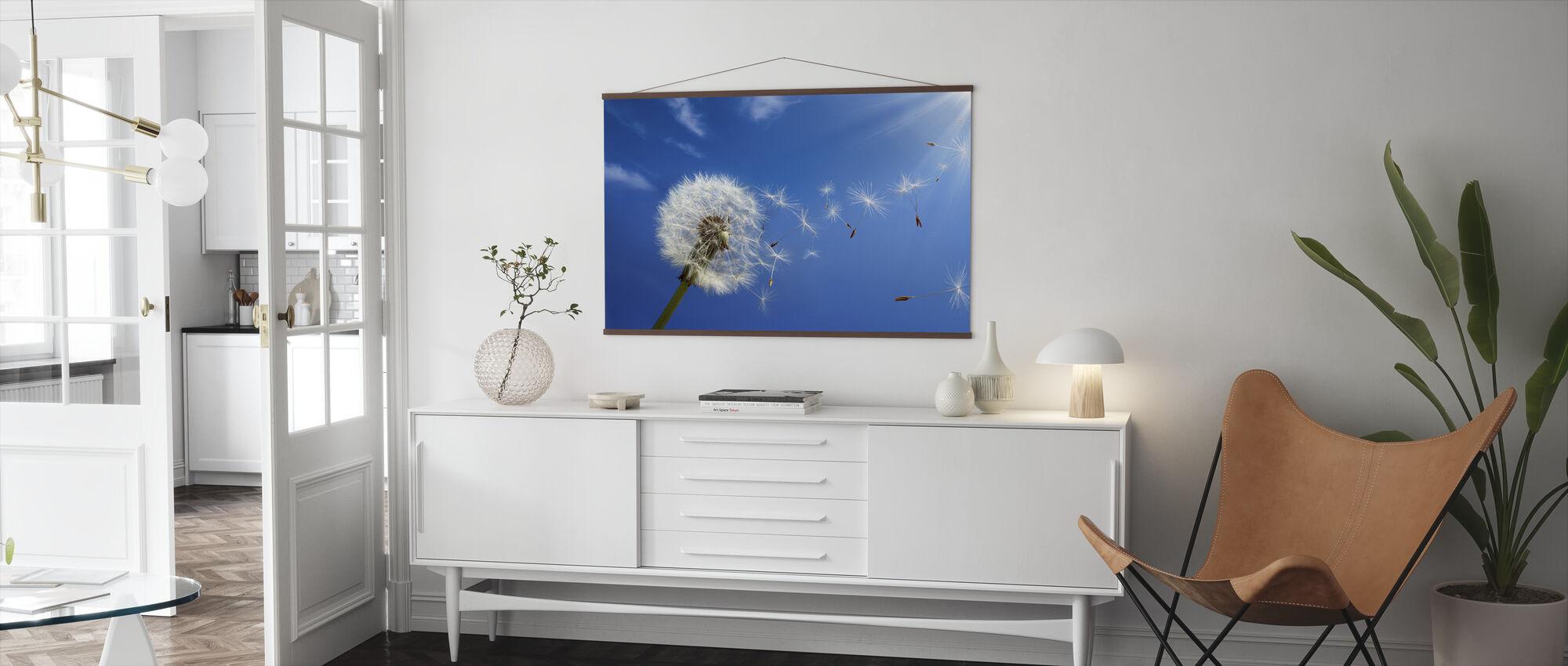 Träume von Löwenzahn - Poster - Wohnzimmer