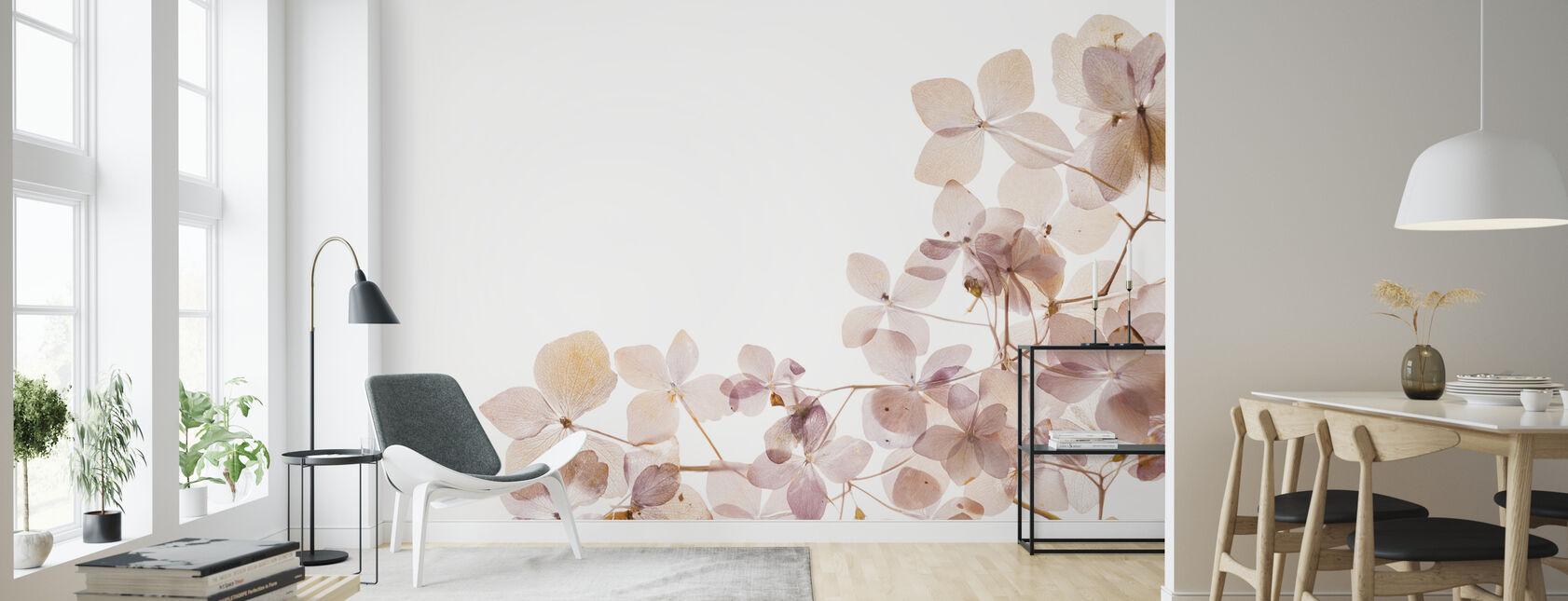 Light Flowers - Wallpaper - Living Room