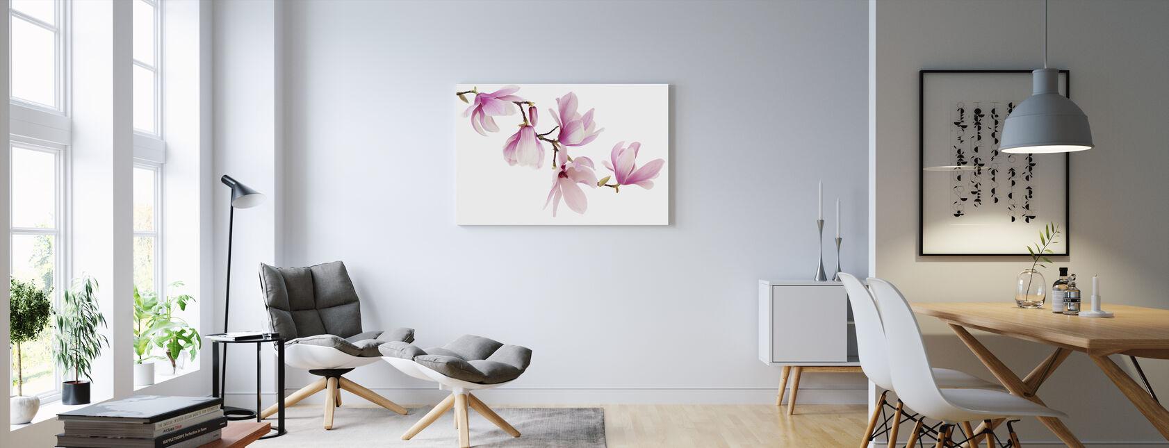 Spring Magnolia - Canvas print - Living Room