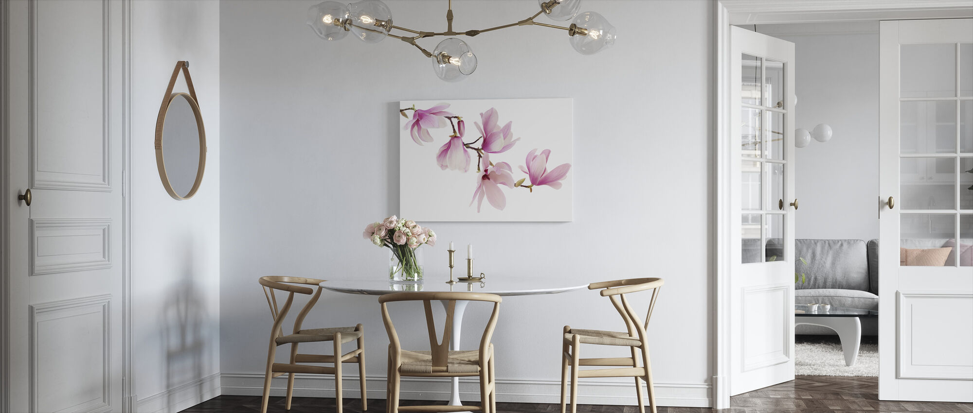 Spring Magnolia - Canvas print - Kitchen