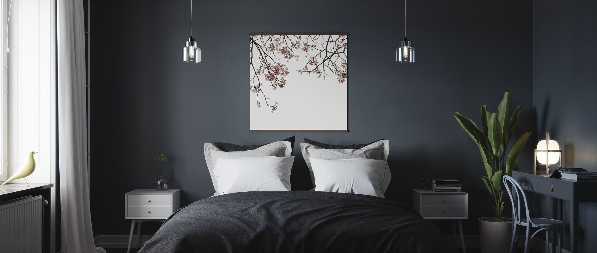 Cherry Branches - Poster - Bedroom