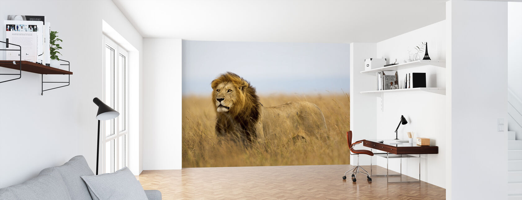 Løver Watch - Tapet - Kontor