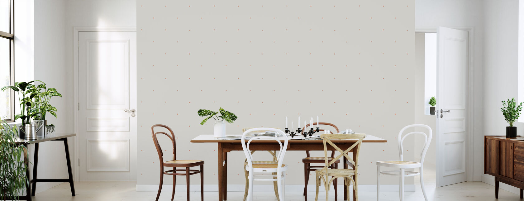 Berries Rose - Wallpaper - Kitchen