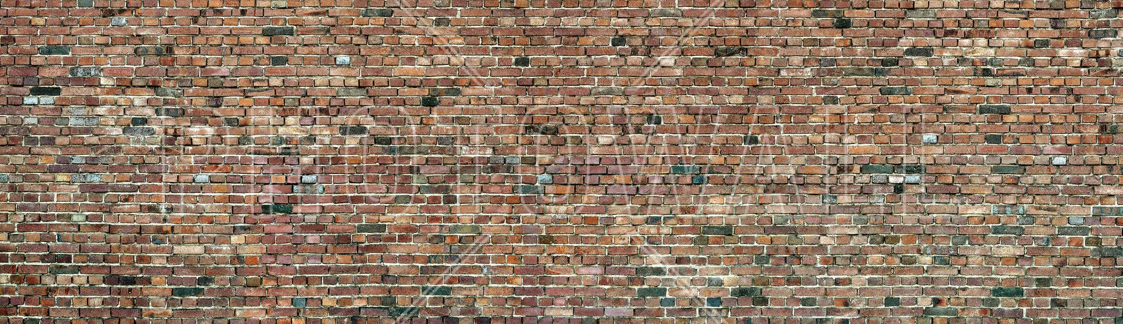 Stockholm Brick Wall Fototapeter & Tapeter 100 x 100 cm