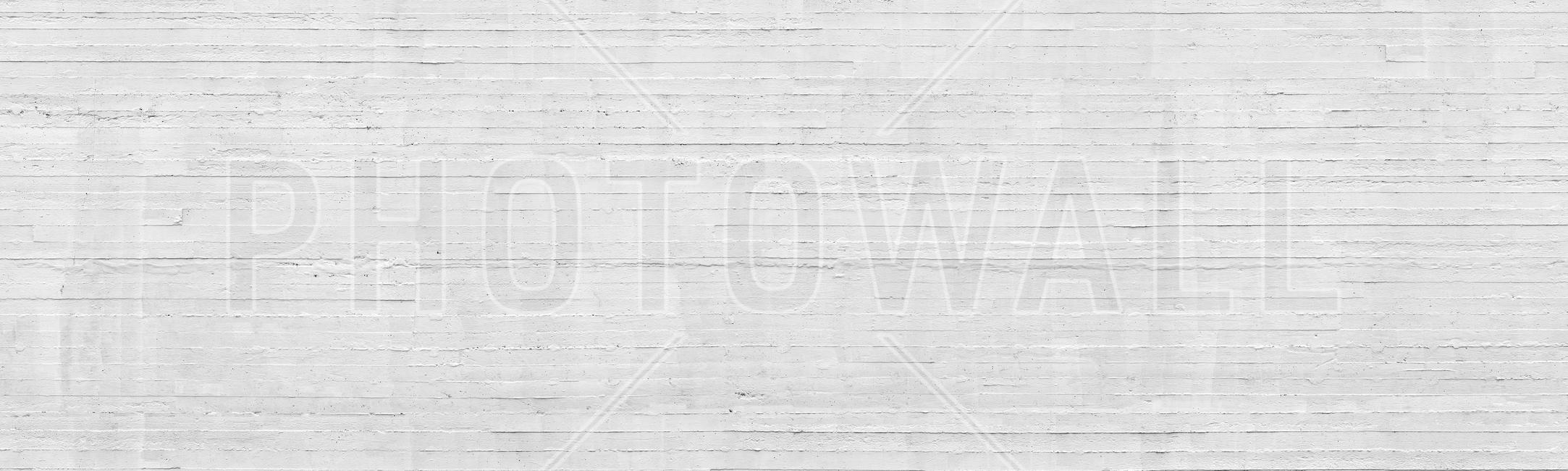 White Concrete Wall Fototapeter & Tapeter 100 x 100 cm