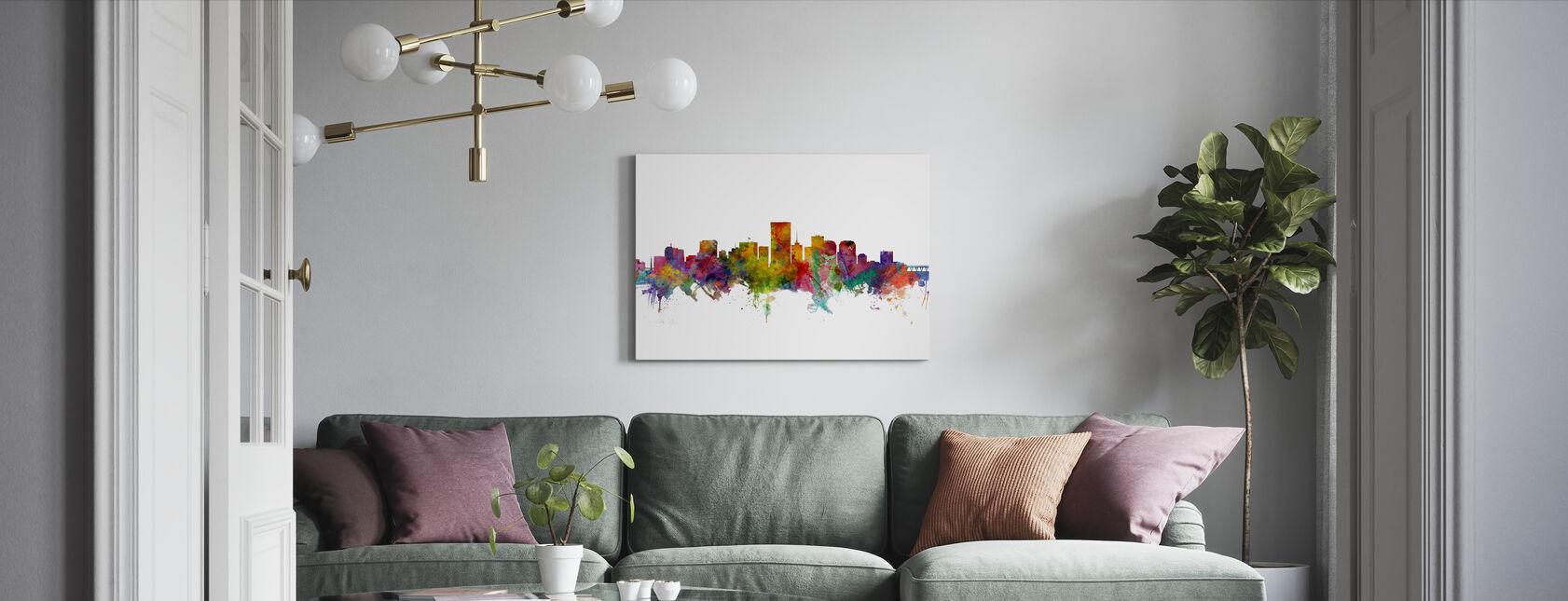 Richmond Virginia - Canvas print - Woonkamer