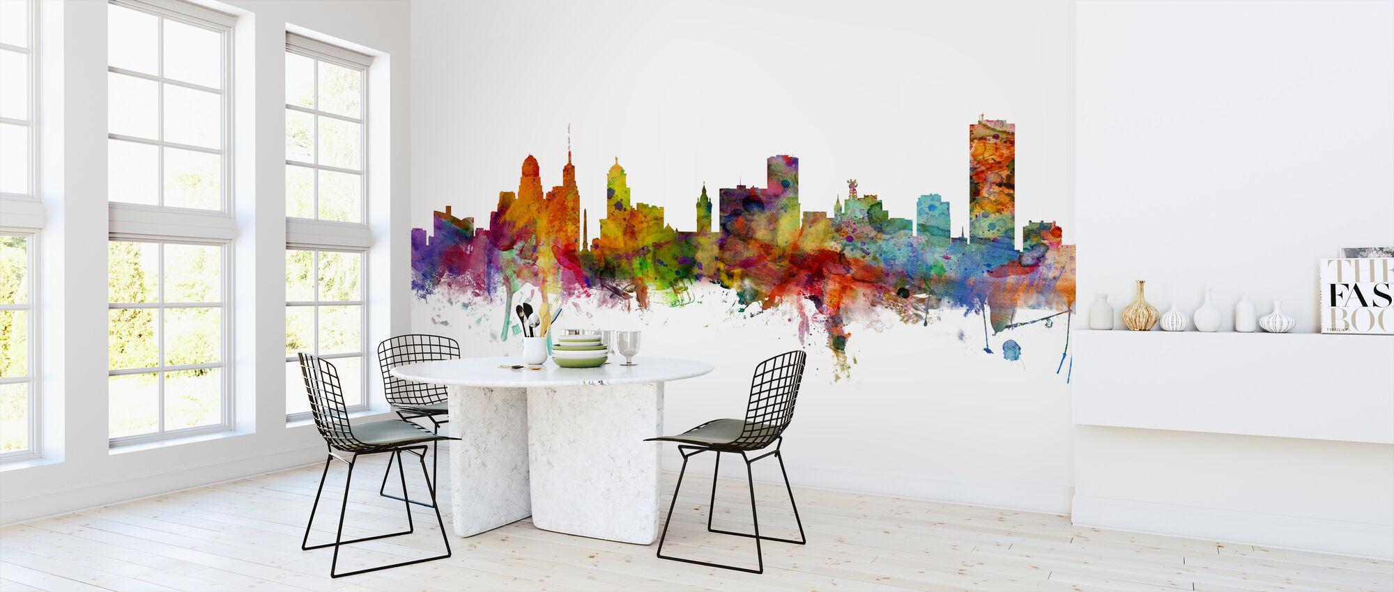 Buffalo New York Skyline - Wallpaper - Kitchen