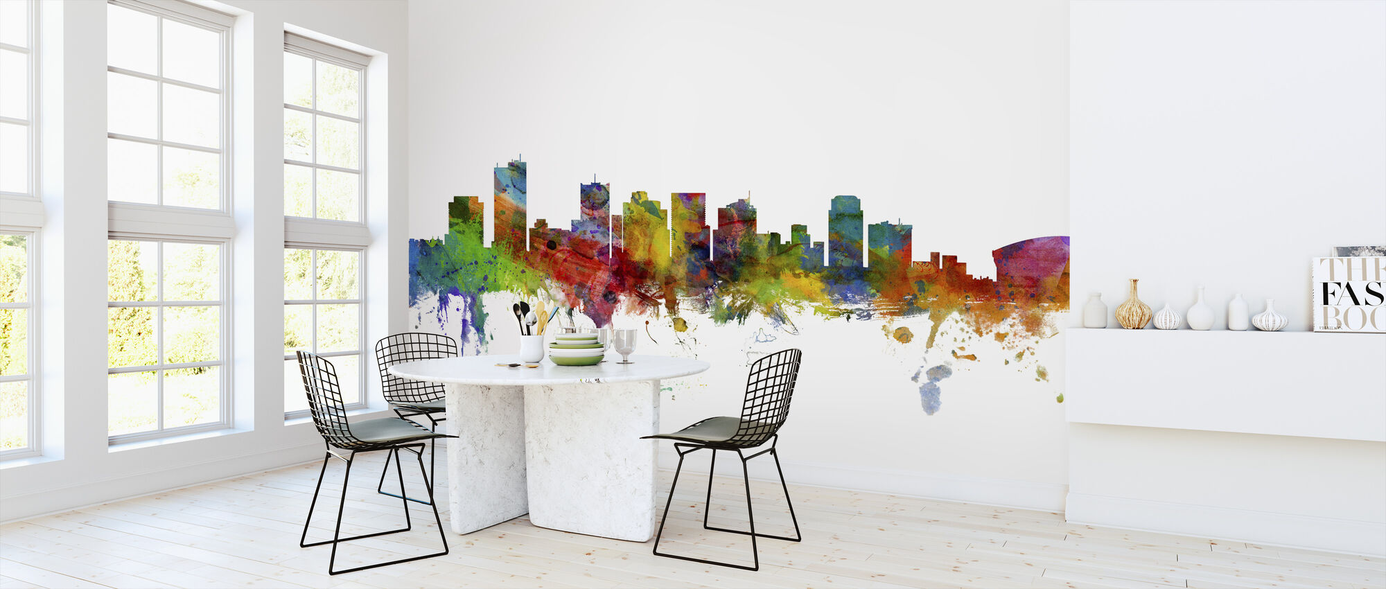 Phoenix Arizona Skyline - Wallpaper - Kitchen
