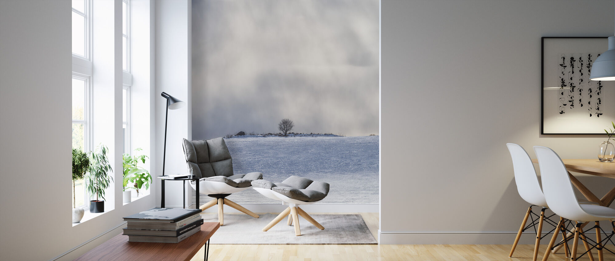 cold horizon mit fototapeten einrichten photowall. Black Bedroom Furniture Sets. Home Design Ideas