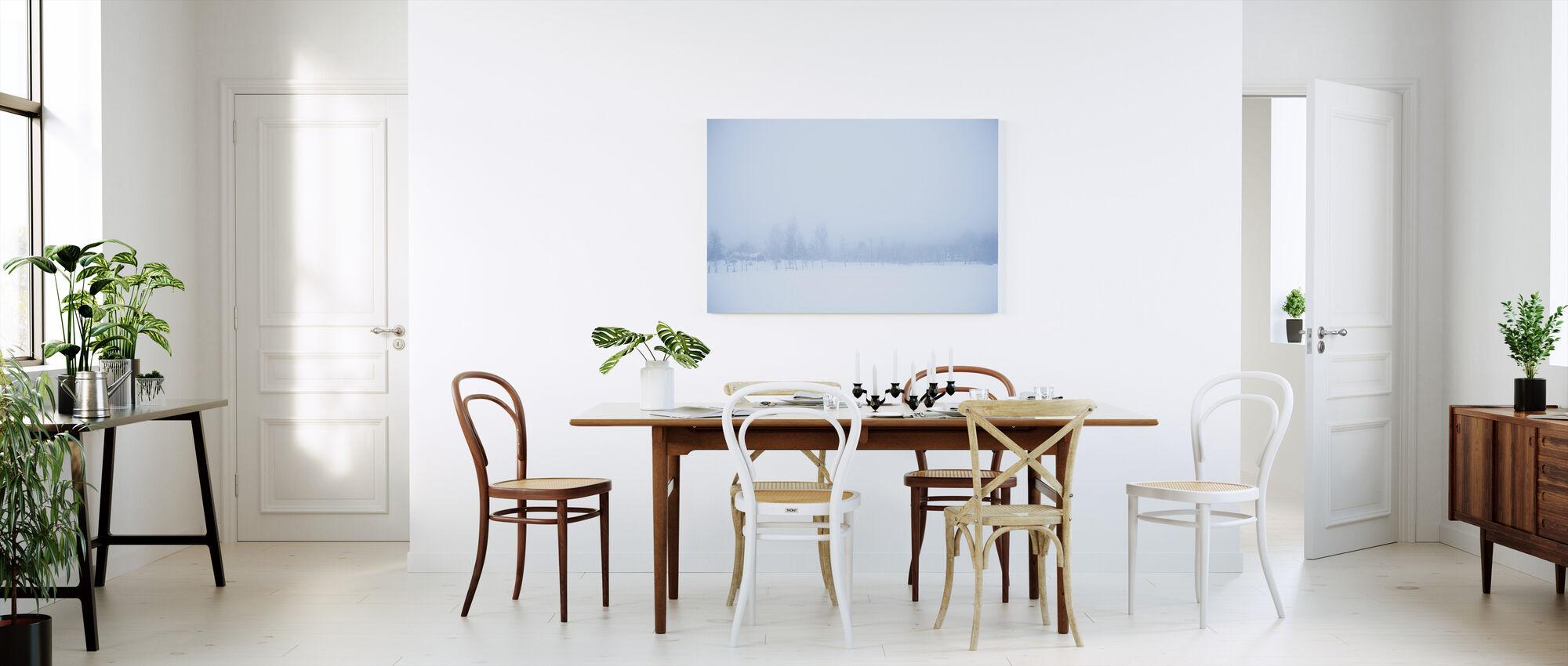 Filipshyttan covered in Fog, Sweden, Europe - Canvas print - Kitchen