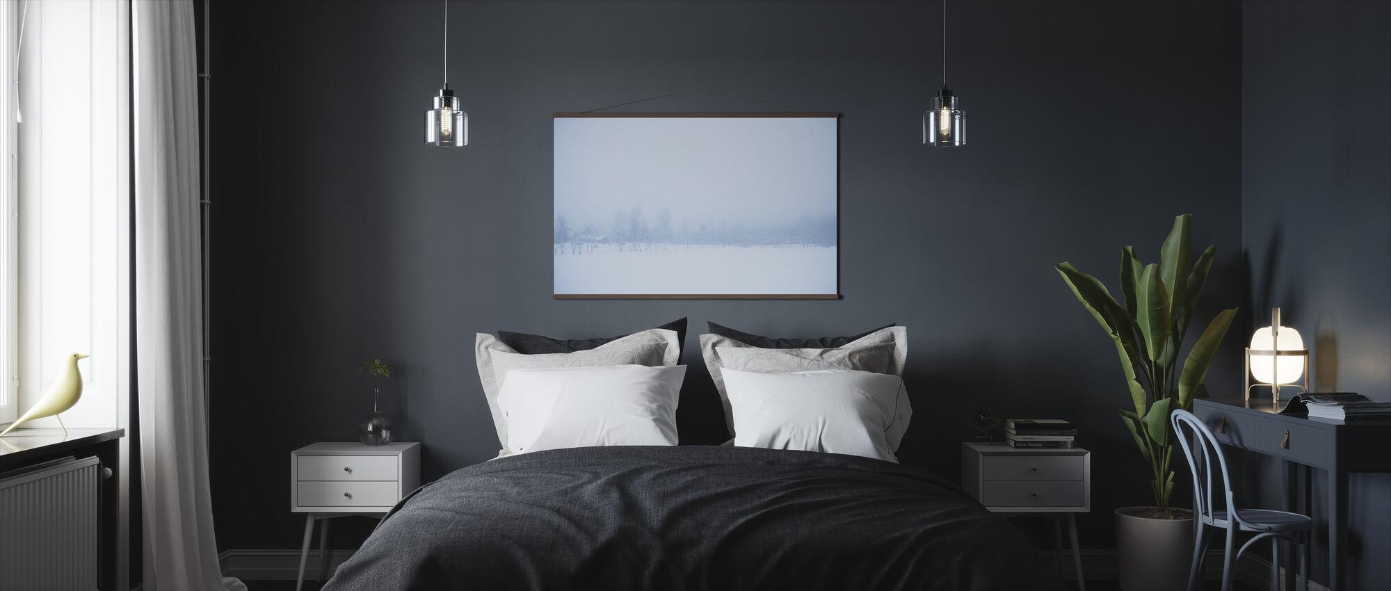 Filipshyttan covered in Fog, Sweden, Europe - Poster - Bedroom