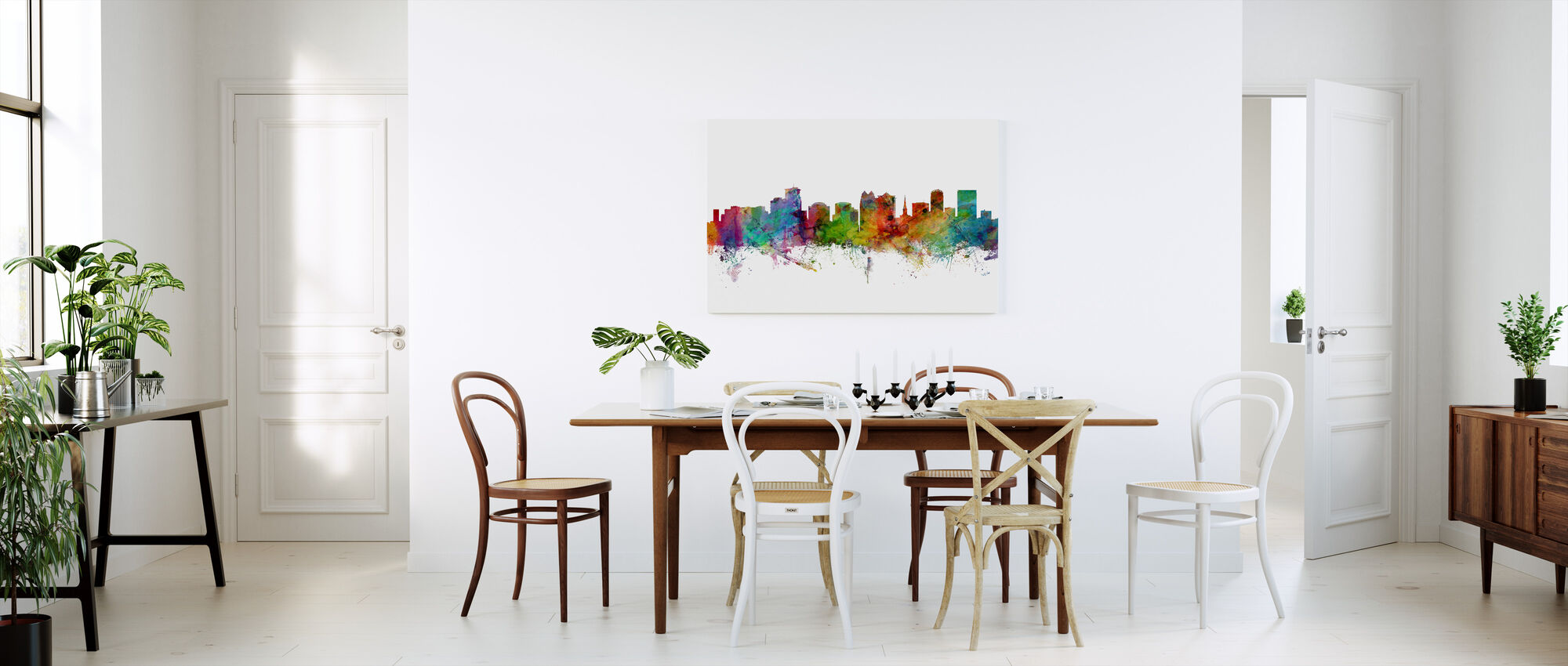 Orlando Florida Skyline - Canvas print - Kitchen