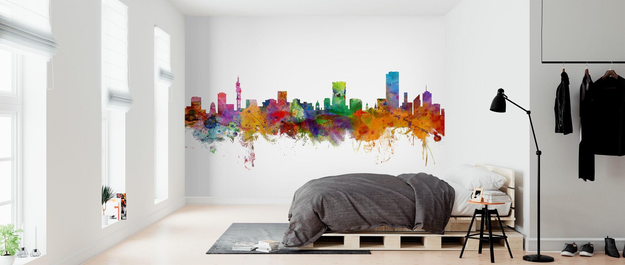 Pretoria South Africa Skyline - Wallpaper - Bedroom