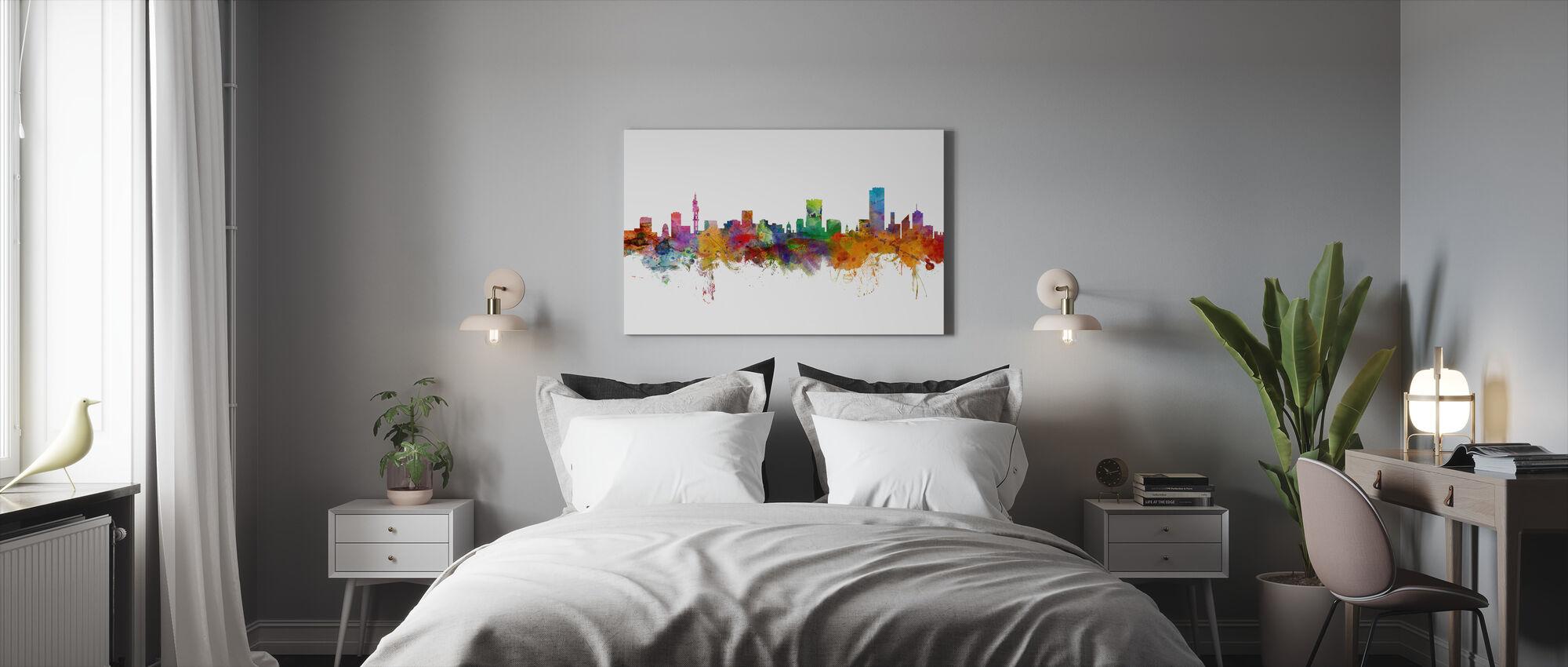 Pretoria South Africa Skyline - Canvas print - Bedroom
