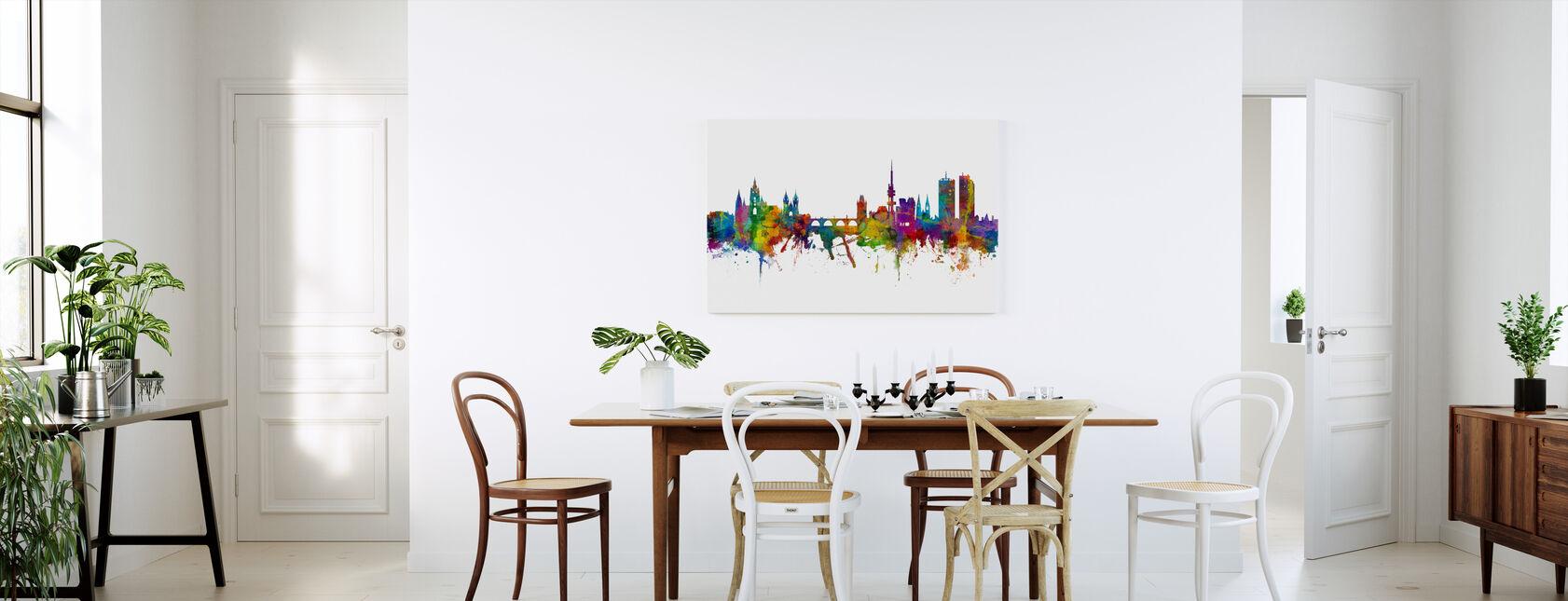 Prague Skyline - Canvas print - Kitchen