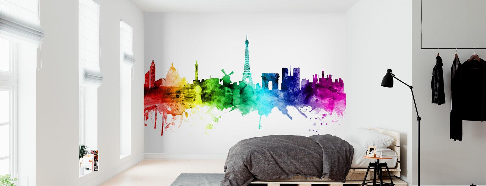Décorations murales multicolores