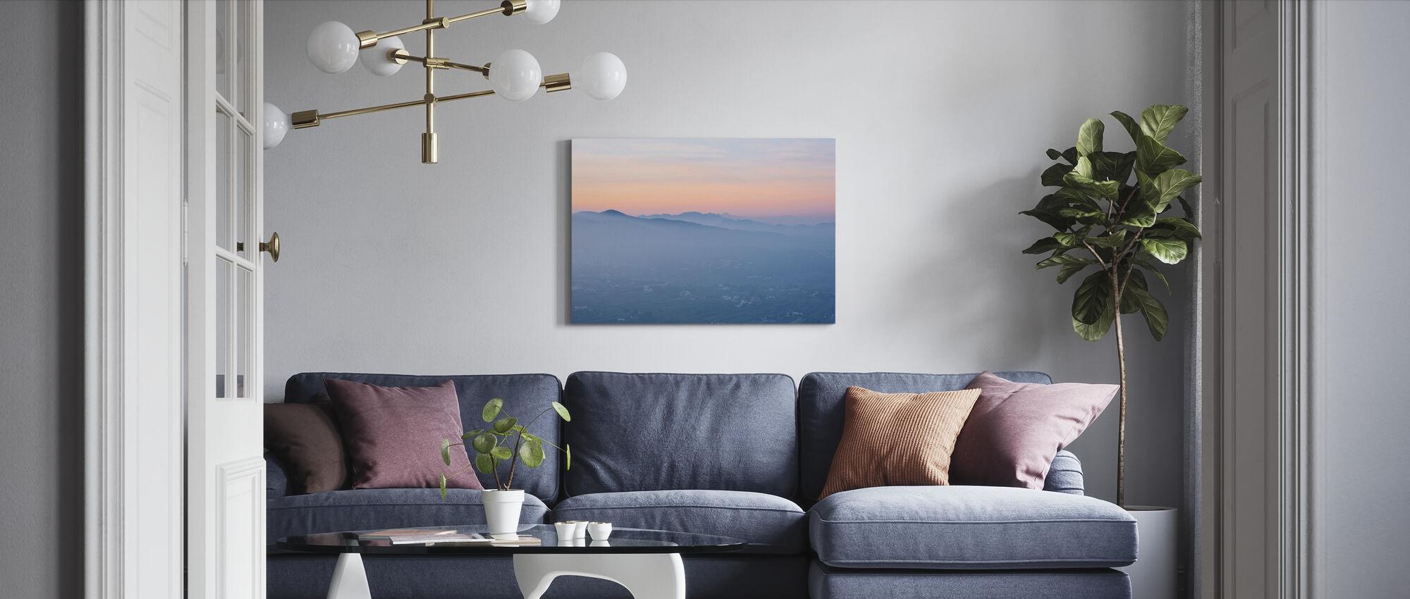 Spanish Summer Valley - Canvas print - Living Room