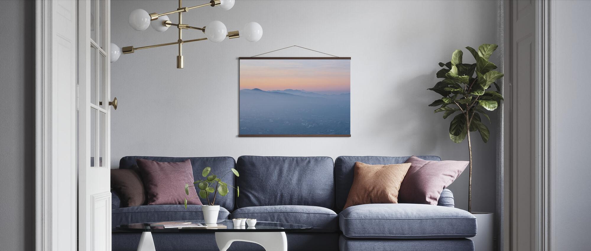 Spanish Summer Valley - Poster - Living Room