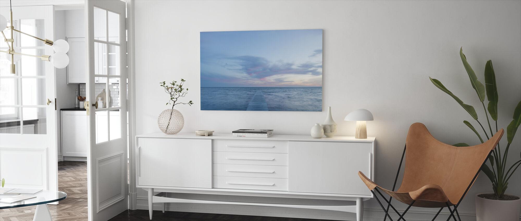 Västerstadsviken, Sweden - Canvas print - Living Room