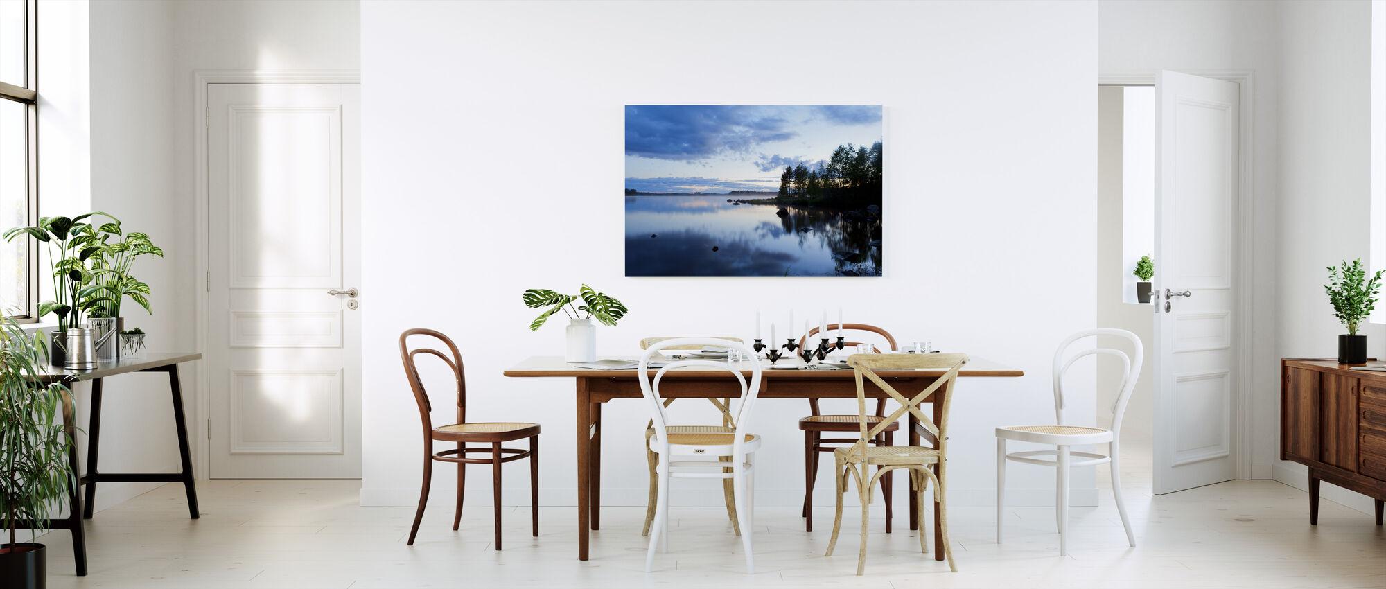 Venjan Taalainmaalla, Ruotsi, Eurooppa - Canvastaulu - Keittiö