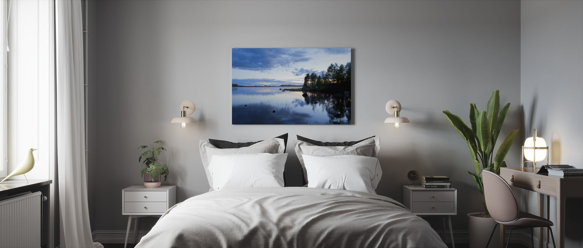 Venjan in Dalarna, Sweden, Europe - Canvas print - Bedroom