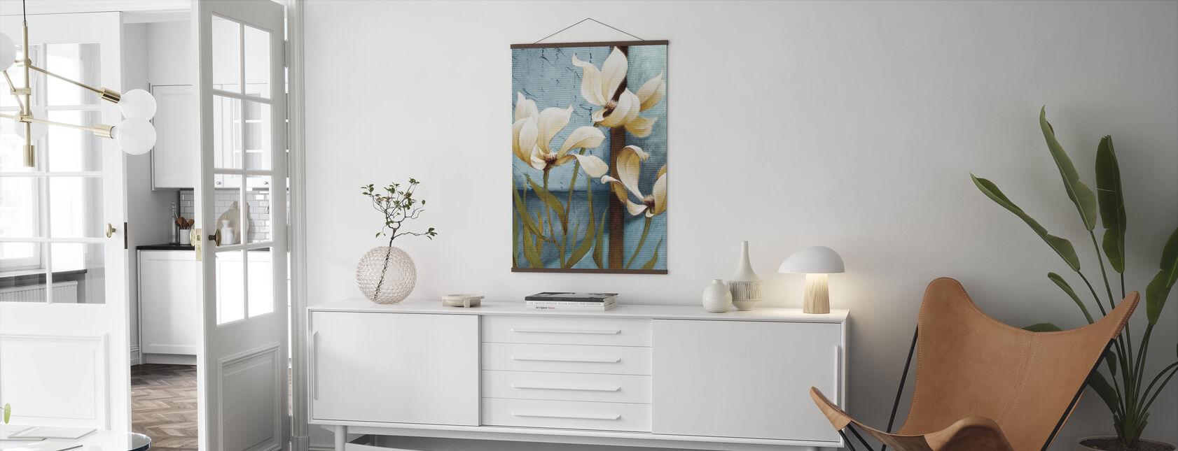 Magnolia Målning - Poster - Vardagsrum
