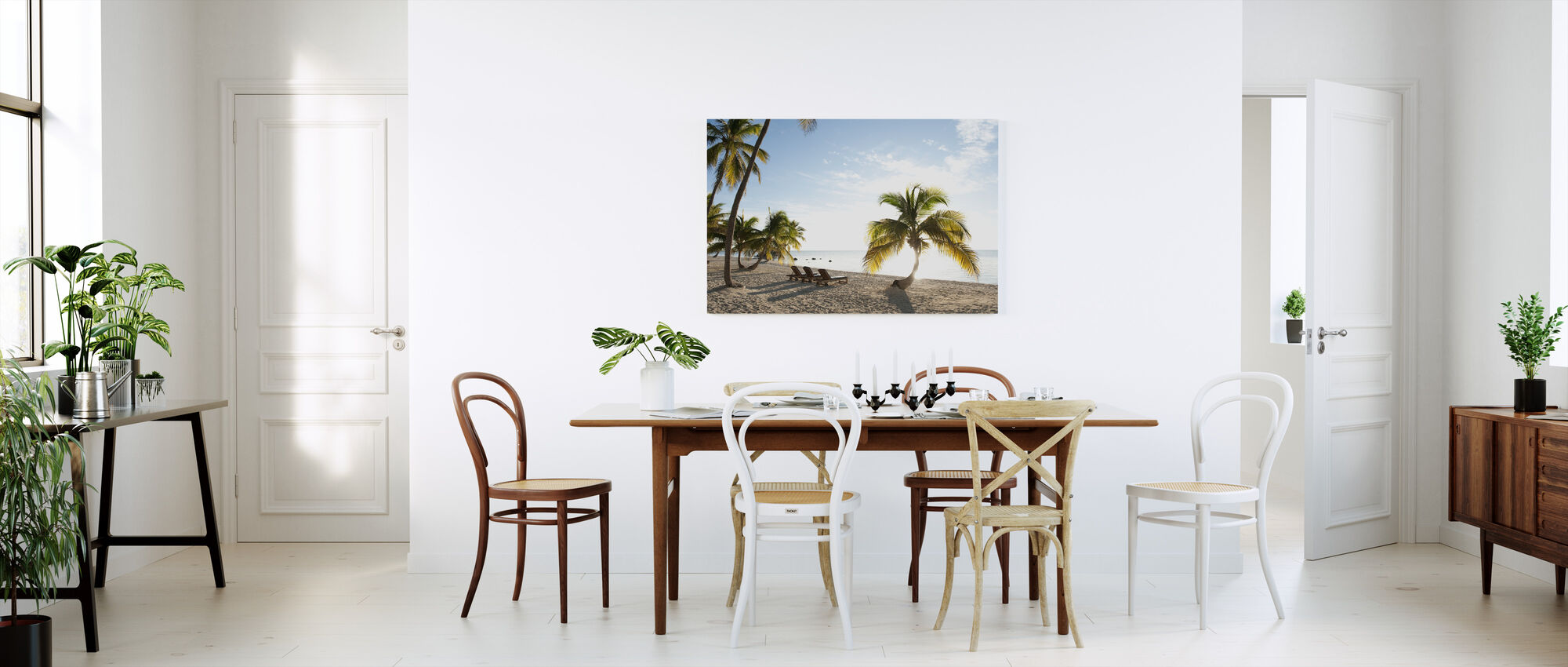Beach in Islamorada in Florida Keys, USA - Canvas print - Kitchen