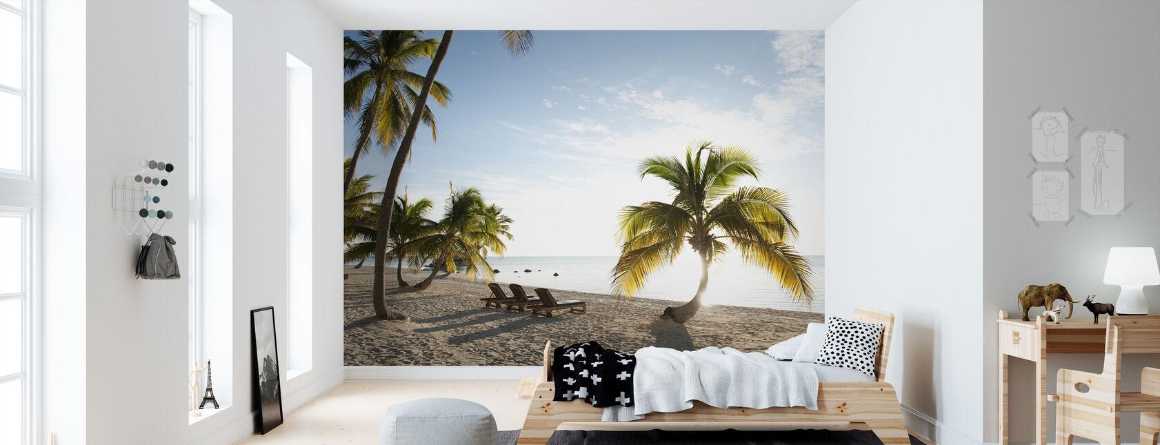 Strand i Islamorada i Florida Keys, USA - Tapet - Barnrum