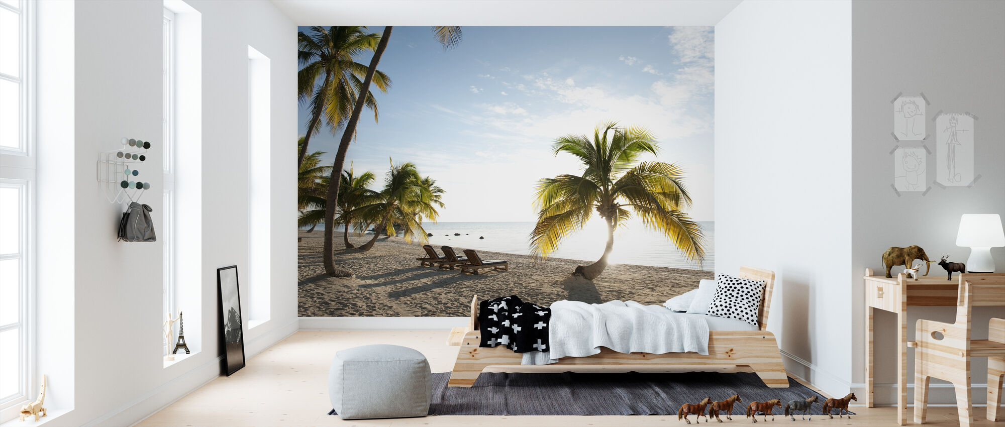 Beach in Islamorada in Florida Keys, USA - Wallpaper - Kids Room