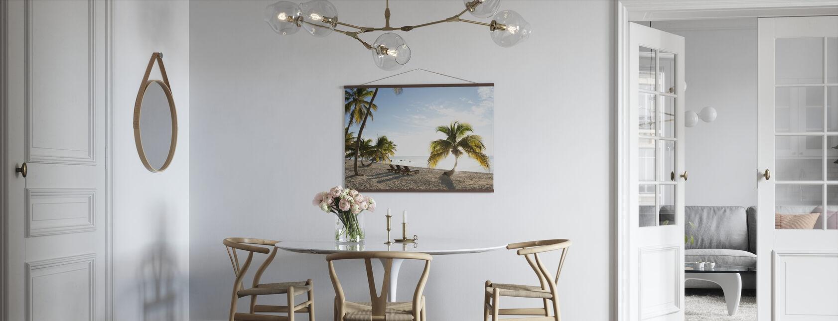 Beach in Islamorada in Florida Keys, USA - Poster - Kitchen