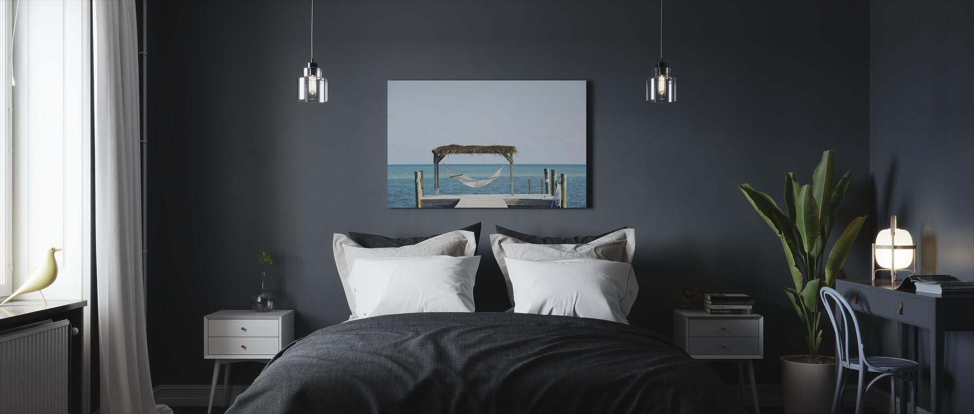 Florida strandpromenad, USA - Canvastavla - Sovrum