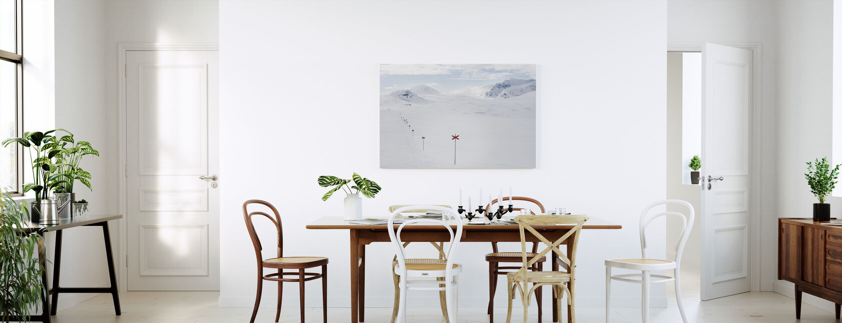 Vandringsled i Sylarna, Sverige - Canvastavla - Kök