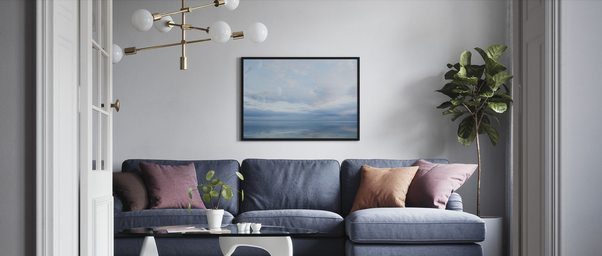 Islamorada in Florida Keys, USA - Framed print - Living Room