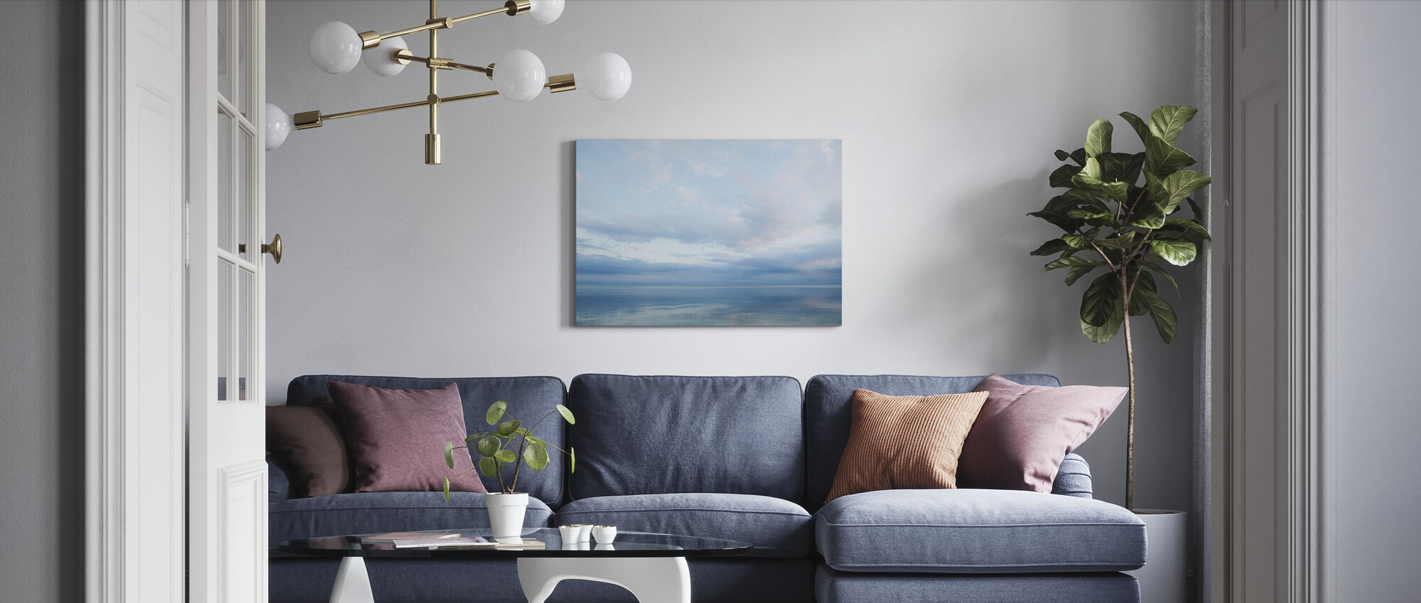 Islamorada in Florida Keys, USA - Canvas print - Living Room