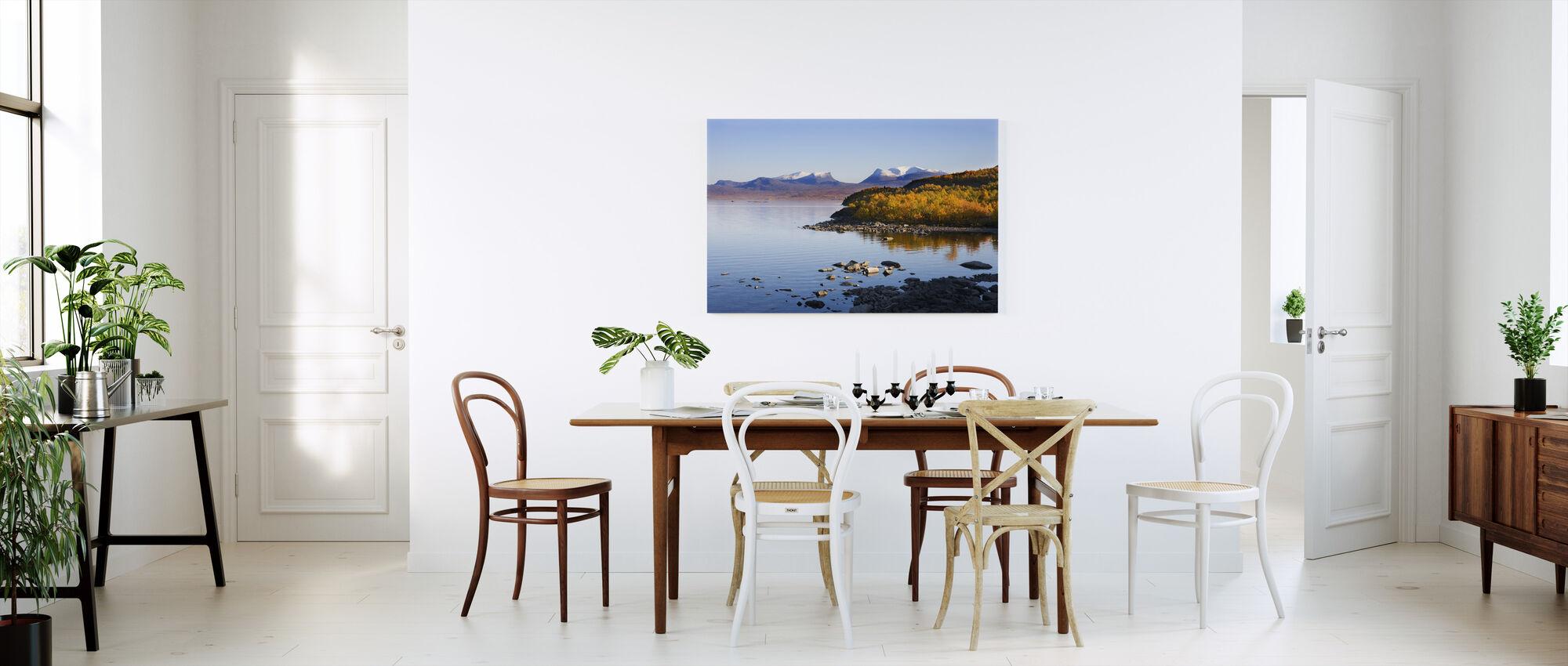 Lapporten in Abisko, Sweden - Canvas print - Kitchen