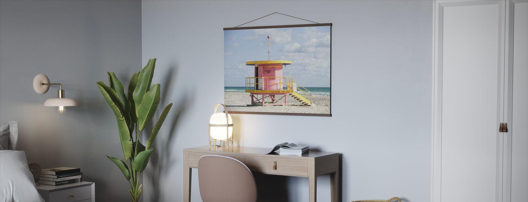 Tårnet i Miami, USA - Plakat - Kontor