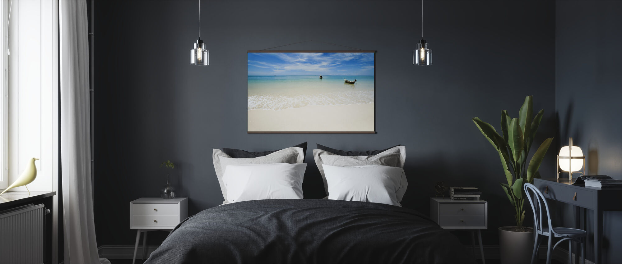 Thailand Fishing Boat - Poster - Bedroom