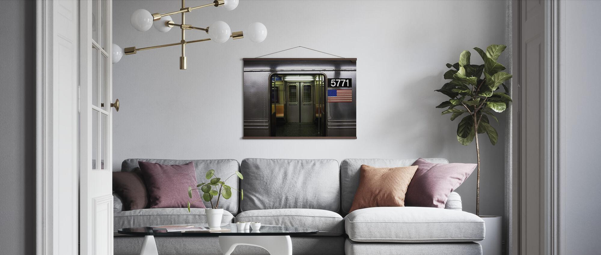 Closing Doors - Poster - Living Room