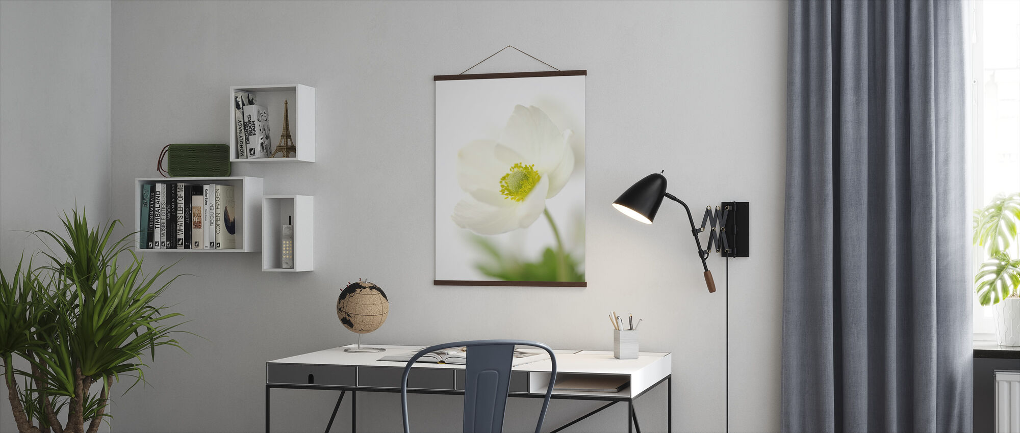Delicate Flower - Poster - Office