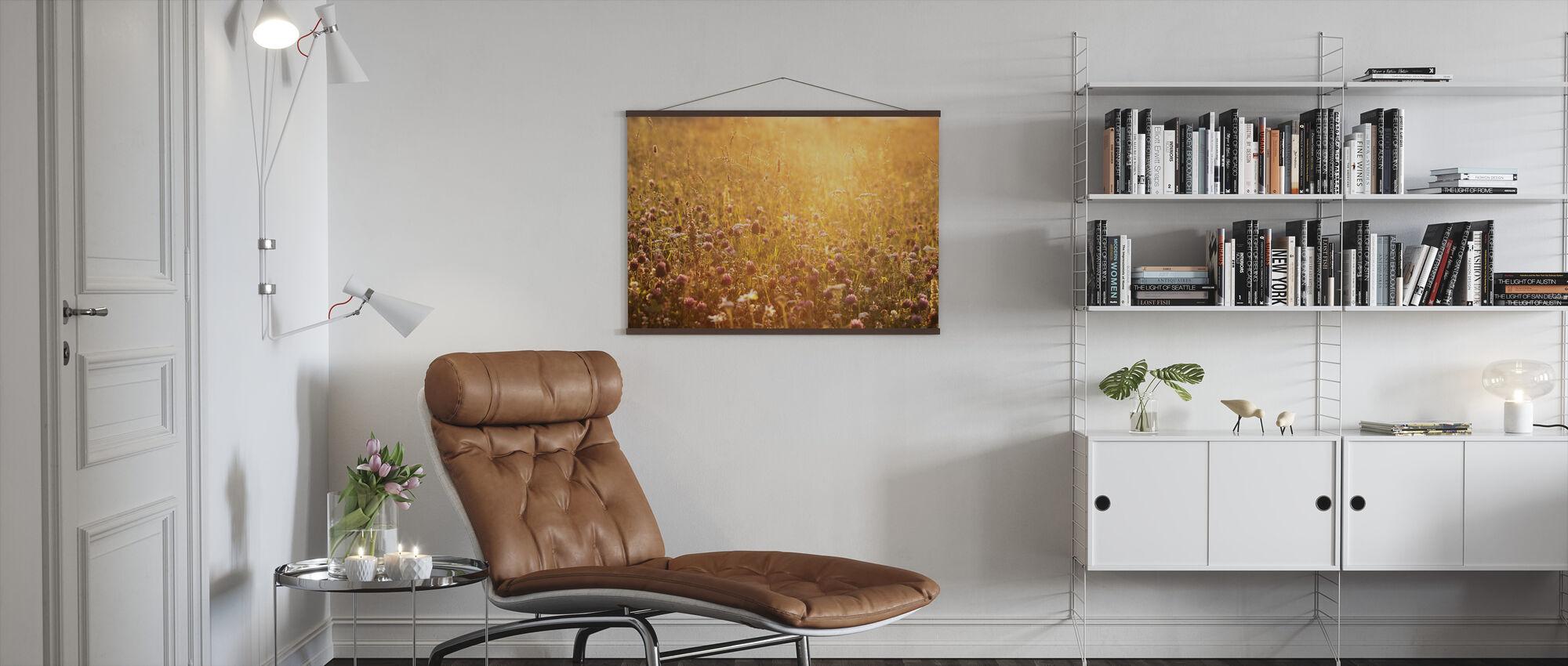 Evening Clover - Poster - Living Room