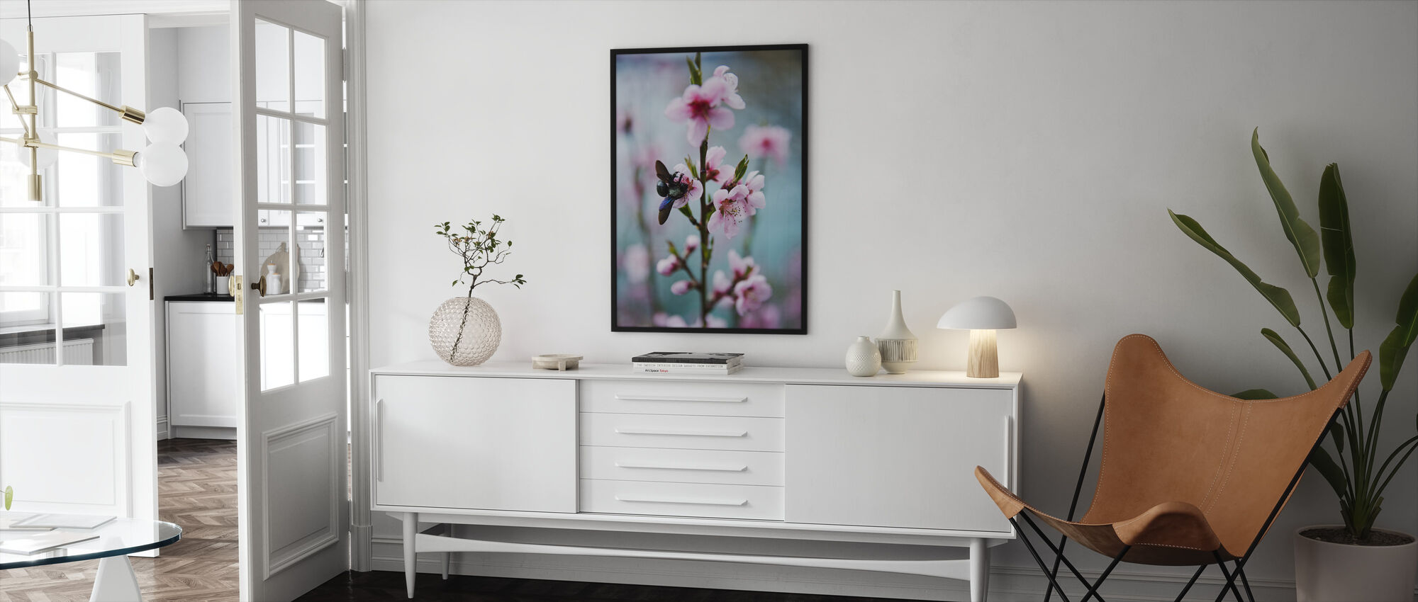 Flower from Provence - Framed print - Living Room